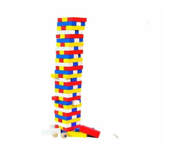 Small Tower Stacks Board Game play Protection Wood Funny Games For Party